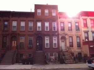 New York hostel street view Nostrand