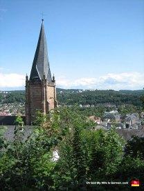 marburg-germany-st-marien-steeple