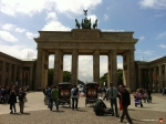The Brandenburger Tor. Tourists are required to take pictures in front of this thing or they will be shot.