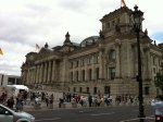 The Reichstagsgebäude. I'm sure some very riveting parliament meetings were held here.