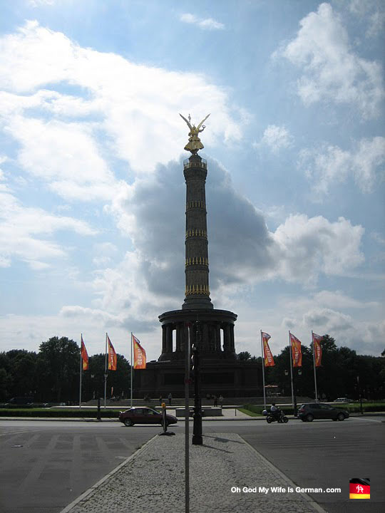The Siegessäule in Berlin