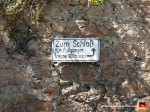 This is a sign pointing out the incredibly obvious path up to the Landgrave Castle.