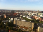 This is the view from the top of the Rathaus facing north. In the distance you can see the Market Church, which is probably my favorite part of the city. Not because I'm religious or anything; that church is parked right in the middle of beer garden central, and Daddy's got a vicious thirst.