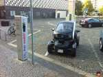 Renault Twizzy Electric Car Charing