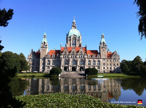 Hannover New Town Hall Rathaus