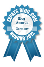 2012 Expats Blog Award - Germany - Honor