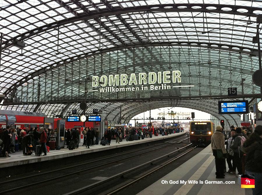 00 berlin germany main trainstation hauptbahnhof for Berlin to dresden train