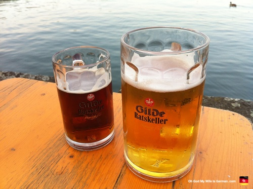 Beer on the Maschsee