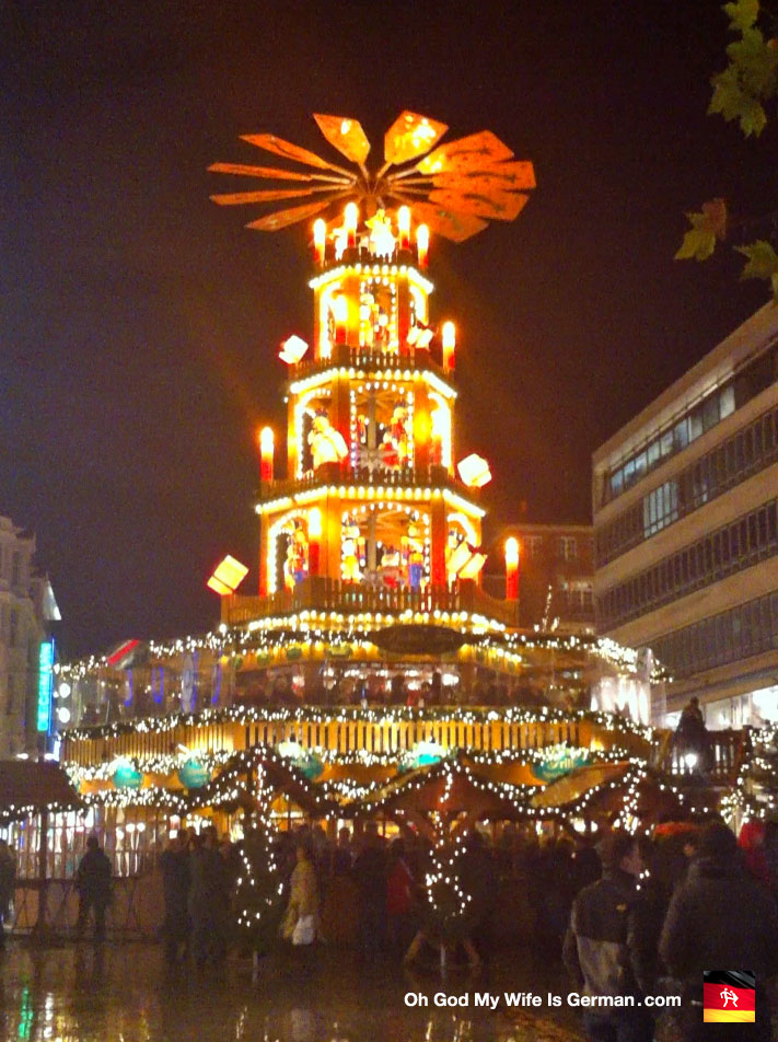 Hannover Christmas Market in Germany