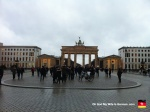 "And here is a picture of the Brandenburg Gate, but I like to think of it as ""A Picture of a Bunch of People Taking Pictures of the Brandenburg Gate."""