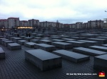 Here's the always uplifting WWII Holocaust Memorial. On this latest trip, Looney Tunes discovered there is actually a museum beneath the memorial. Man, I could not WAIT to get down there and cry my eyes out beneath a square city block of concrete and night terrors.