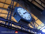 Hamburg Central Station Clock