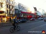 Reeperbahn street in Hamburg