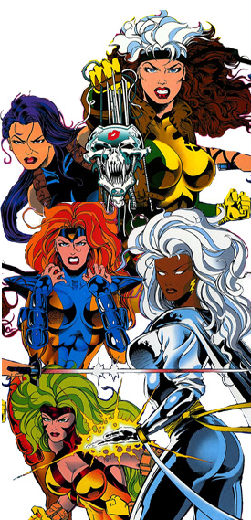 X Men Female Characters Names - 145.5KB