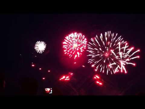 Team-Frankreich-Intermède-Hannover-Internationalen Feuerwerkswettbewerb