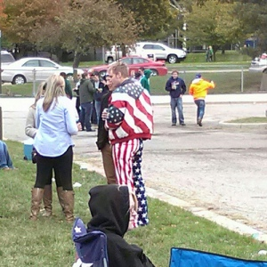 'MERICA patriotism funny american flag outfit