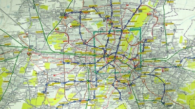 munich map germany metro