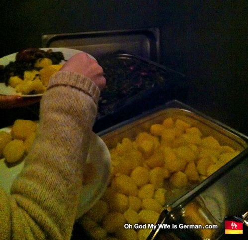 Grünkohlwanderung potatos kartofeln