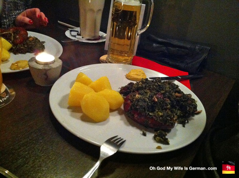 Bregenwurst Grünkohlwanderung potatos kartofeln