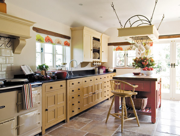 large-beautiful-american-kitchen-hand-made