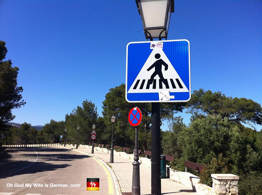 47-funny-walk-sign-palma-mallorca-spain-pedestrian