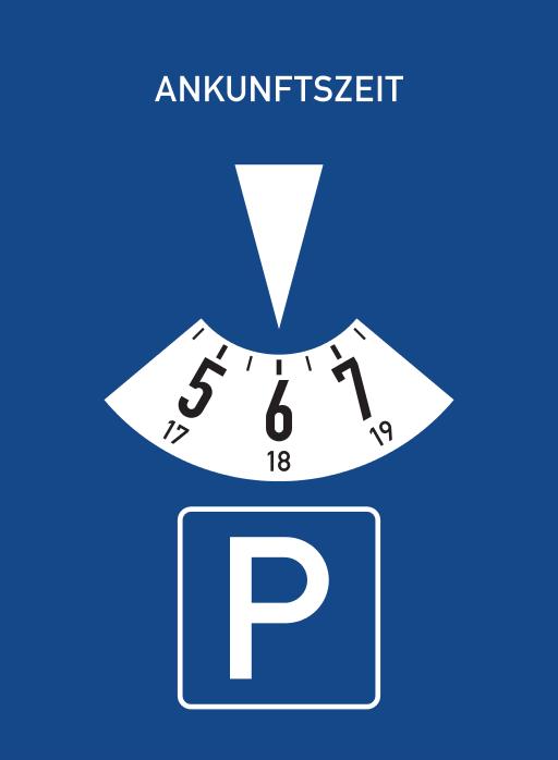 German-Parking-Disc-Parkuhr