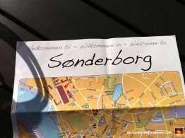 We spent the afternoon in Sonderborg. Here's our very exciting map.