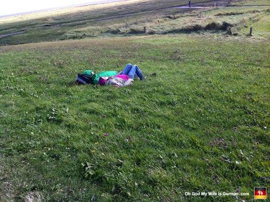 """""""Sunbathing"""" on Grode!"""