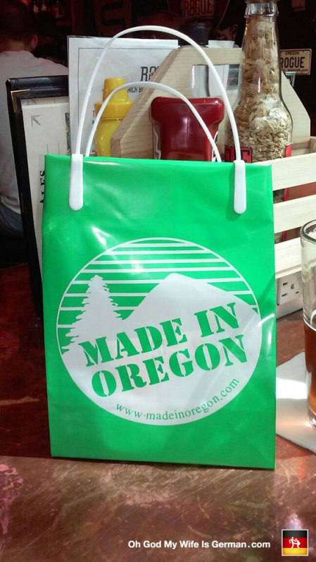 Made in Oregon, yo -- just like me! (Oh my God that's gross.)