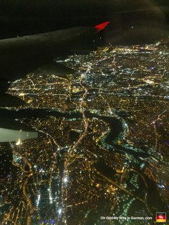 "Ooooo! Arial view of Istanbul. ""VEHRY NIEECE,"" as Borat would say."