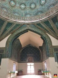 Here's a mosque-turned-museum. Check out that tiled mosaic work. Some poor bastard put down some serious blood, sweat and tears here.