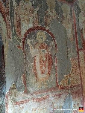 Christian fresco. Got it. Let's go grab some lunch.