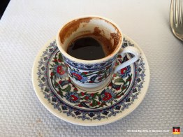 Do you think you are hardcore when it comes to coffee? Do you order the largest, most expensive drink at Starbucks every day? Try a little cup of Turkish coffee. It will blow your colon right out your sissy little cinnamon ring.
