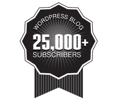 Over 25,000 WordPress Followers Ribbon
