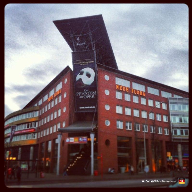 Phantom of the Opera - Hamburg - Neue Flora Theater