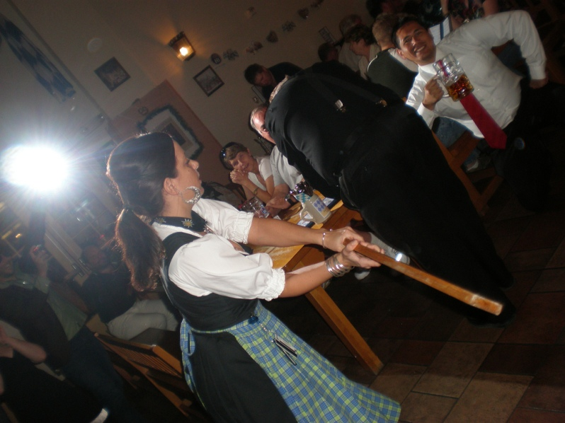 German-Waitress-Spanking-Beer