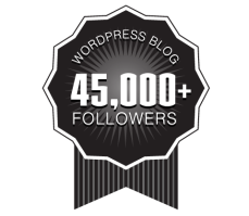 Over 45,000+ WordPress Followers Ribbon