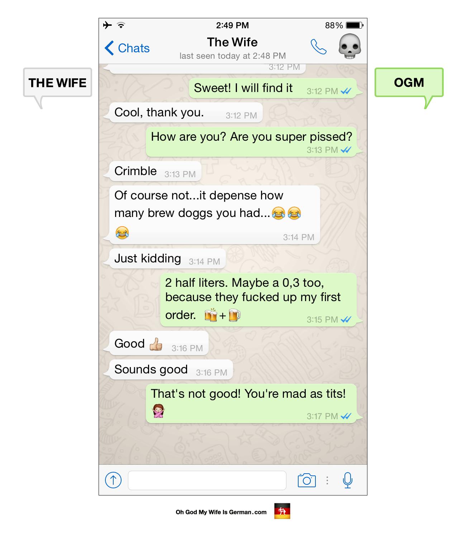 Whatsapp dating Tyskland
