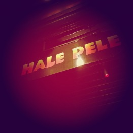"Here's a tiki bar we hit up called ""Hale Pele."""