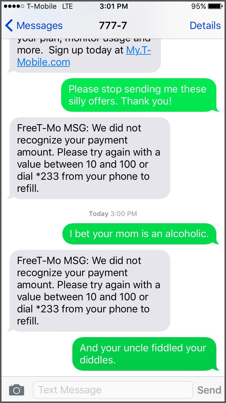 t mobile automated messages funny screenshots 2