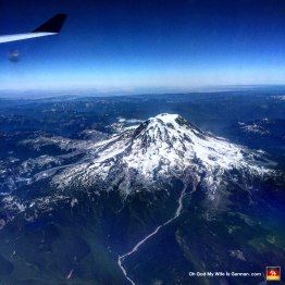 This is Mt. Adams in Washington State. Technically I took this picture while my wife and I were flying back to Germany, but screw it; let's just pretend it was part of the Hawaii trip.