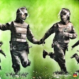 33-banksy-exhibit-amsterdam-police-riot-gear