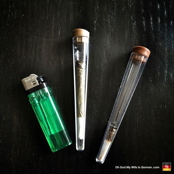Marijuana joints in Amsterdam