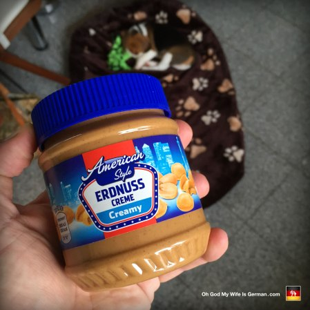American style peanut butter in germany