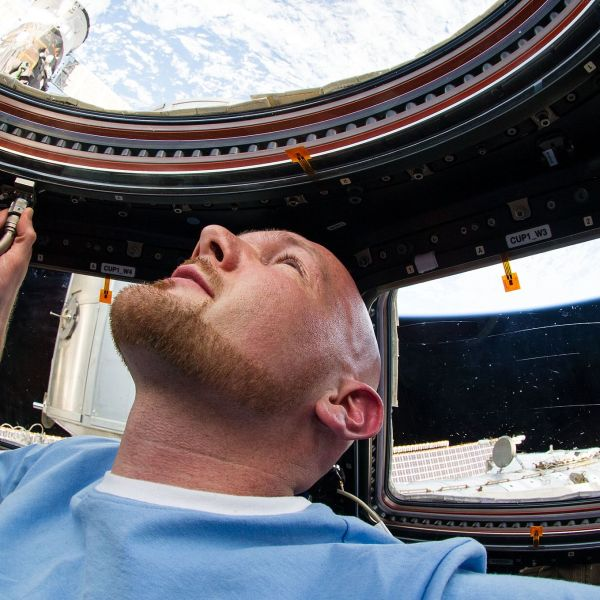 Alexander Gerst ESA ISS Astronaut View from space