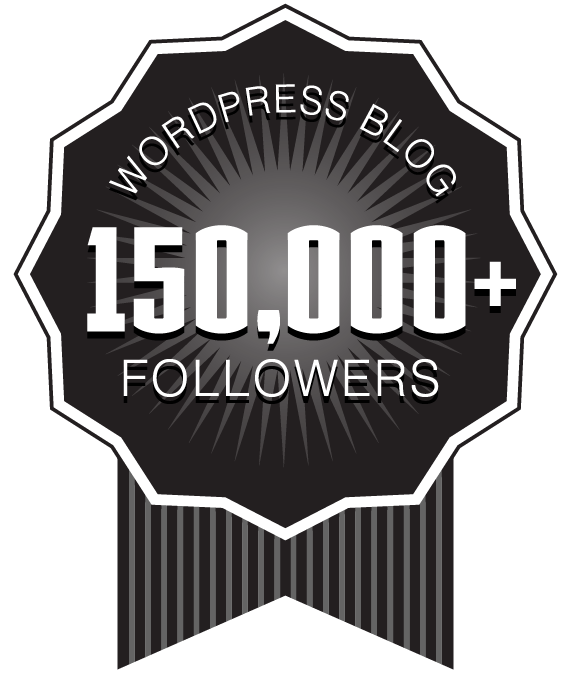 Over 150,000+ WordPress Followers Ribbon