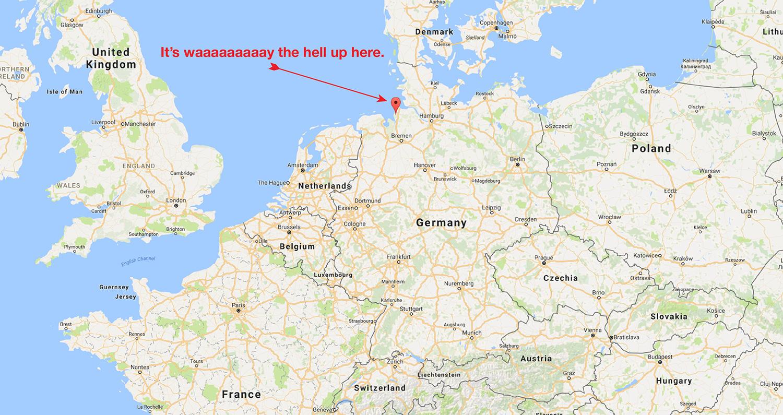 ferienwohnungen-dorum-neufeld-google-maps – Oh God, My Wife Is German.