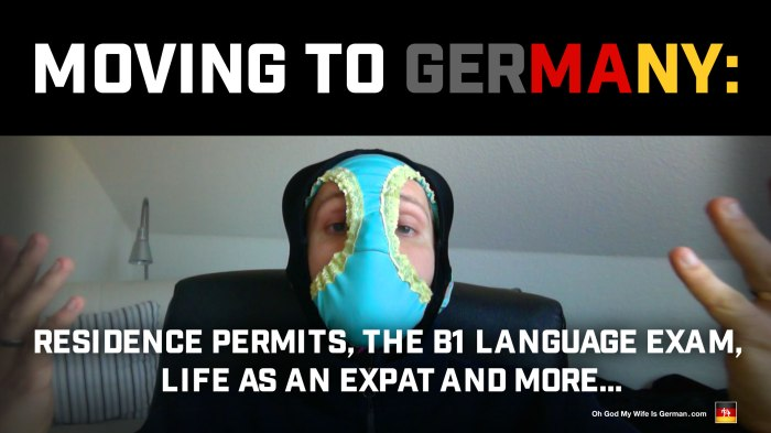 Moving to Germany: Residence Permits, the B1 Language Exam, Life as an Expat and More...