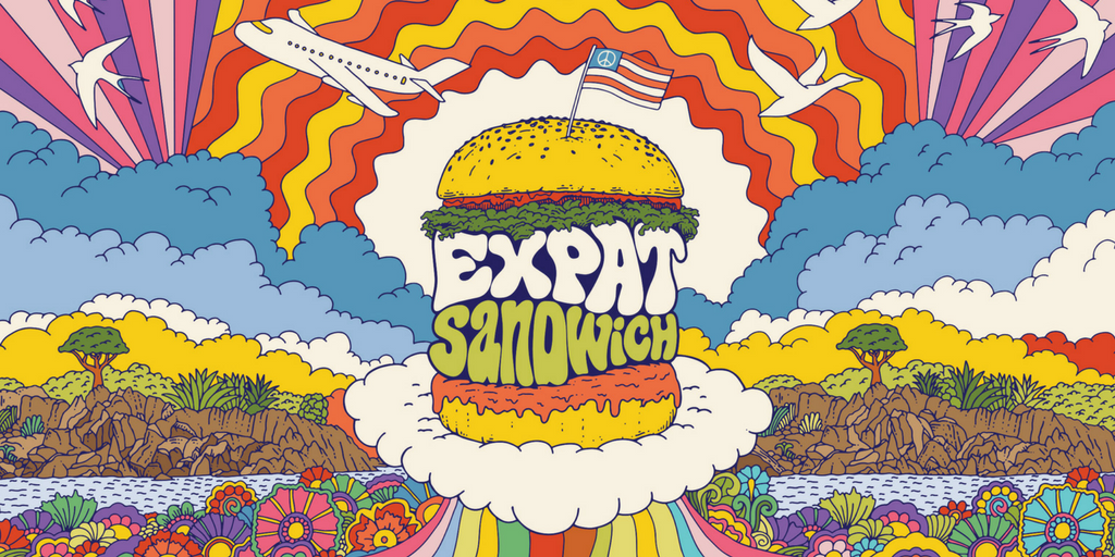 Expat Sandwich Podcast Travel Logo