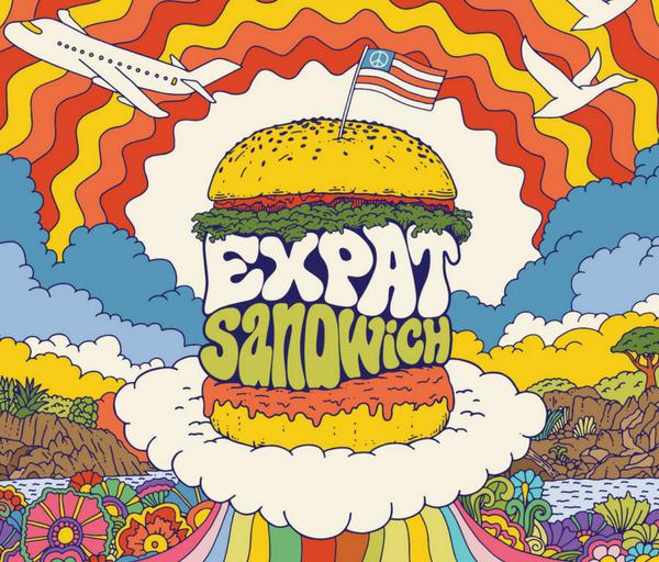 Expat Sandwich Podcast Travel Logo